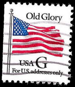 # 2881 USED G STAMP OLD GLORY