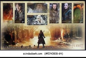 NEW ZEALAND - 2014 THE HOBBIT THE BATTLE OF FIVE ARMIES / MOVIE - FDC