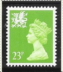 Great Britain-Wales & Monmouthshire # WMMH43 (MNH) $1.00