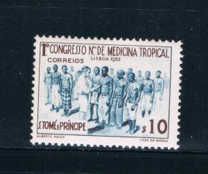Saint Thomas and Prince Is 356 MNH Medical Clinic (GI0440)+