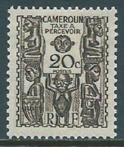 Cameroun, Sc #J17, 20c MH