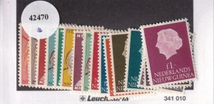 Netherlands New Guinea:  Sc 22-37, MNH (42470)
