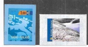 Finland #1168-1169   self adhesive  (MNH ) CV$7.25