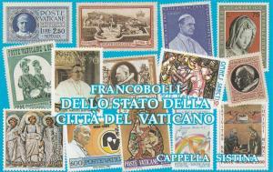 Vatican City #877a Complete Booklet CV $7.50 (V4317L)