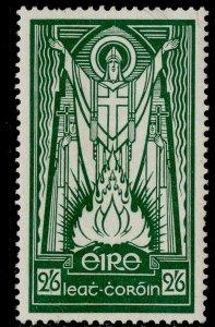 IRELAND GVI SG123, 2s 6d emerald-green, M MINT. Cat £40. ORDINARY