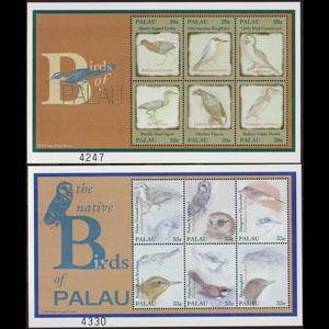 PALAU 2000 - Scott# 553-4 S/S Birds NH