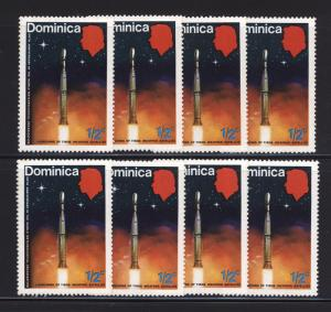 Dominica 1973 Sc354 Launching Of The Tiros Weather Satellite MNH OG Lot F-VF