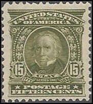 309 Mint,OG,HR... SCV $185.00