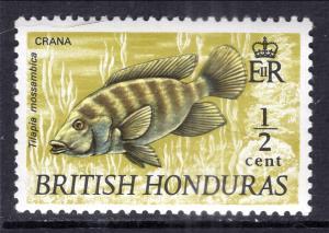 British Honduras 214 Fish MNH VF