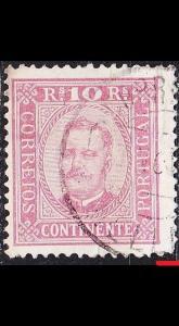 PORTUGAL [1892] MiNr 0067 yB ( O/used ) [01]
