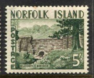 STAMP STATION PERTH Norfolk Island #40 Definitive Issue MLH - CV$5.50