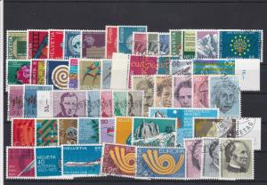 Switzerland Used Stamps Ref 24588