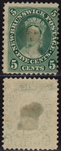 New Brunswick Canada - 1860 - Scott #8 - unused/lightly used