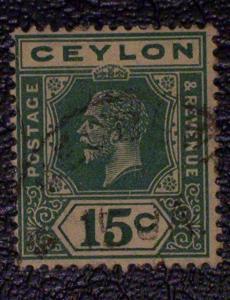 Ceylon Scott #236a used