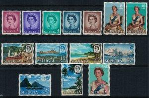 St. Lucia #182-95* NH  CV $17.05