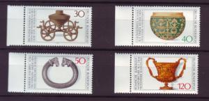J2638 JLS stamps1976 germany mnh set/4 #1218-2 $3.20v design