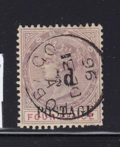 Tobago Scott # 31 VF used neat cancel cv $ 55 ! see pic !