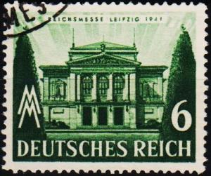 Germany. 1941 6pf  S.G.753 Fine Used