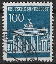 GERMANY  1966 - used - from set high value