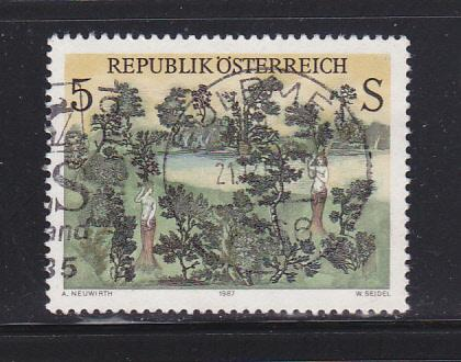 Austria 1412 Set U Art, Baumgottinnen by Neuwirth (B)