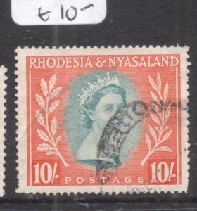 Rhodesia & Nyasaland SG 14 VFU (2dlz)