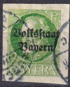 Bavaria #157 F-VF Used CV $20.00 (A18305)