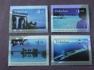 TOKELAU # 243-246 -MINT NEVER/HINGED-COMPLETE SET---QEII----1997