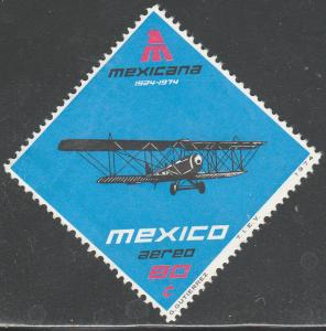 MEXICO C430, 50th Anniversary of Mexicana Airlines MNH