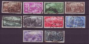 J21608 Jlstamps various 1948 italy part of set used #495//506, $57.00 + scv