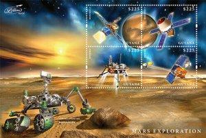 Guyana MNH S/S Mars Exploration #2 2013