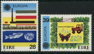 IRELAND Sc#658-659 1986 Europa Issue Complete Set OG Mint NH