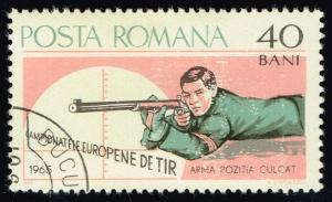 Romania #1749 Rifle Shooting; CTO (0.25)