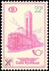 Belgium #Q365-Q367, Complete Set(3), 1951, Hinged