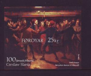 Faroe Islands Sc 438 2003 Slania stamp sheet mint NH