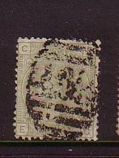 Great Britain Sc70 1872 5d pale ol grn Victoria stamp