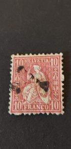 Switzerland #53 Used