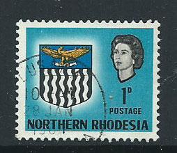 Northern Rhodesia  SG 76 VFU