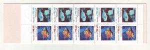 J481 jl,s stamps 1985 mnh palau marine life booklet #76b