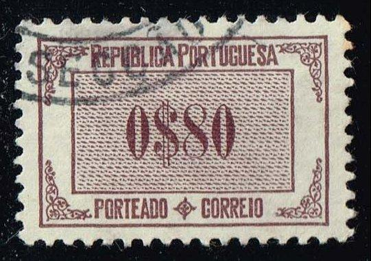 Portugal #J52 Numeral; Used (4.00)