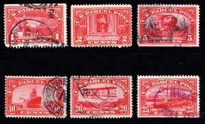 US STAMP #Q9  25c +  Parcel Post Stamp 1913 USED STAMPS LOT #T1