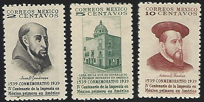 Mexico #748-750 MNH Full Set of 3
