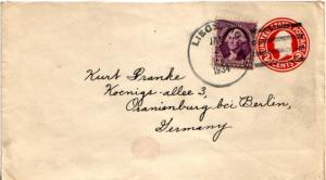 United States Missouri Liege 1934 4e-bar  1918-1954  3c Washington on 2c Wash...