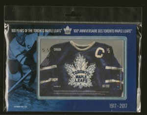 Canada 100 Years of Toronto Maple Leafs 1917-2017 $5 Souvenir Booklet Sealed