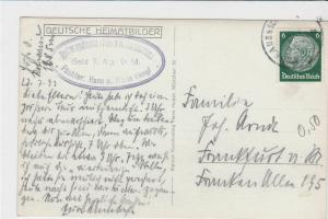 germany  1933  stamps card ref r13570