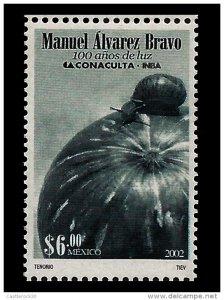 E)2002 MEXICO, MANUEL ÁLVAREZ BRAVO, 100 YEARS OF LIGHT, FAM