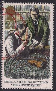 GB 1993 QE2 24p Sherlock Holmes SG 1784 used  ( C1269 )
