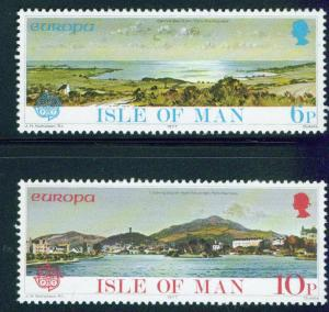 Isle Of Man MNH 99-100 Europa 1977