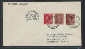 BERMUDA (P1106B) 1952 PAQUEBOT BERMUDA SS OCEAN MONARCH COVER