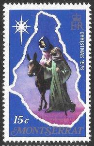 [21932] Montserrat Mint Never Hinged