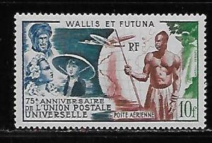 Wallis and Futuna Islands C10 75th UPU single MLH